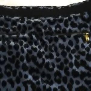 Victoria's Secret Skirts - blue cheetah skirt